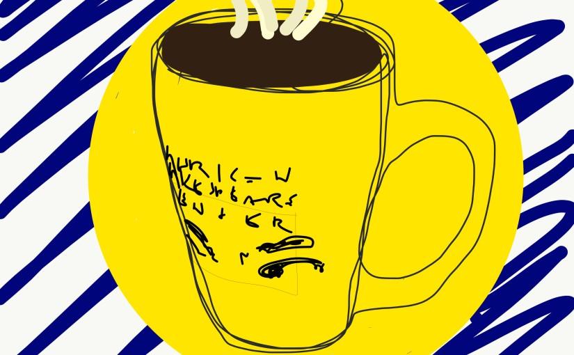 Morning coffee, 8.3.17